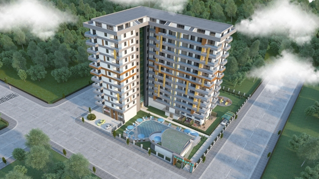 New apartments in alanya for sale
